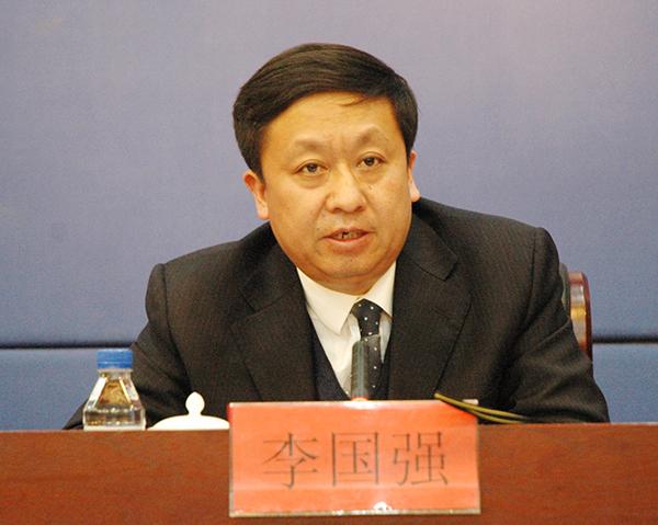 吉林省农业委员会主任李国强回答记者提问.