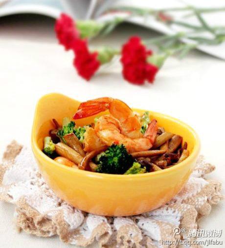 鲜虾时蔬茶树菇 - 吉林发布